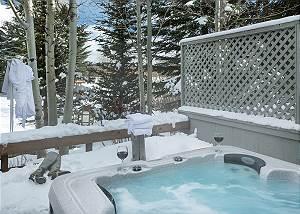 Hot Tub -  Pines Garden - Luxury Vacation Cottage - Jackson Hol