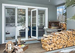 Patio -  Pines Garden - Luxury Vacation Rental Cottage Jackson