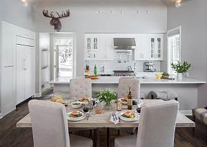 Dining Area -  Pines Garden - Jackson Luxury Vacation Cottage