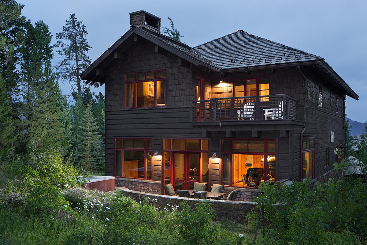 Luxury teton village vacation rental granite ridge lodge 03 for Teton cabin rentals