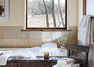 Master Bath - Spirit Dance - Jackson Hole, WY -  Luxury Villa