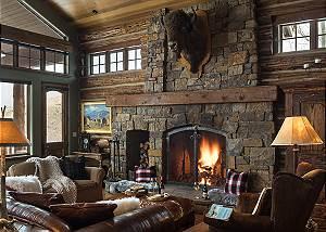Great Room - Spirit Dance - Jackson Hole, WY -  Luxury Villa