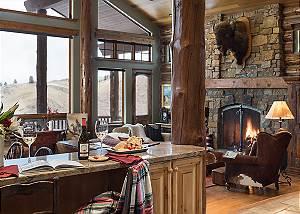 Kitchen & Great Room - Spirit Dance - Jackson, WY- Luxury Villa