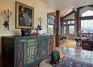 Entry - Spirit Dance - Jackson Hole, WY -  Luxury Villa Rental