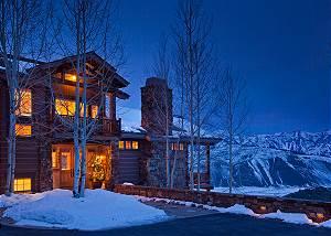 Front Exterior - Spirit Dance - Jackson Hole, WY -  Luxury Villa