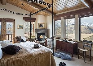 Master Bedroom - Spirit Dance - Jackson Hole, WY -  Luxury Villa