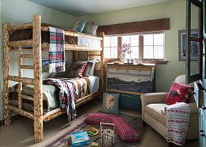 Guest Bedroom 3 - Spirit Dance - Jackson Hole, WY -  Luxury Vill