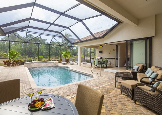 Cne vacation rental naples florida home for Florida pool homes