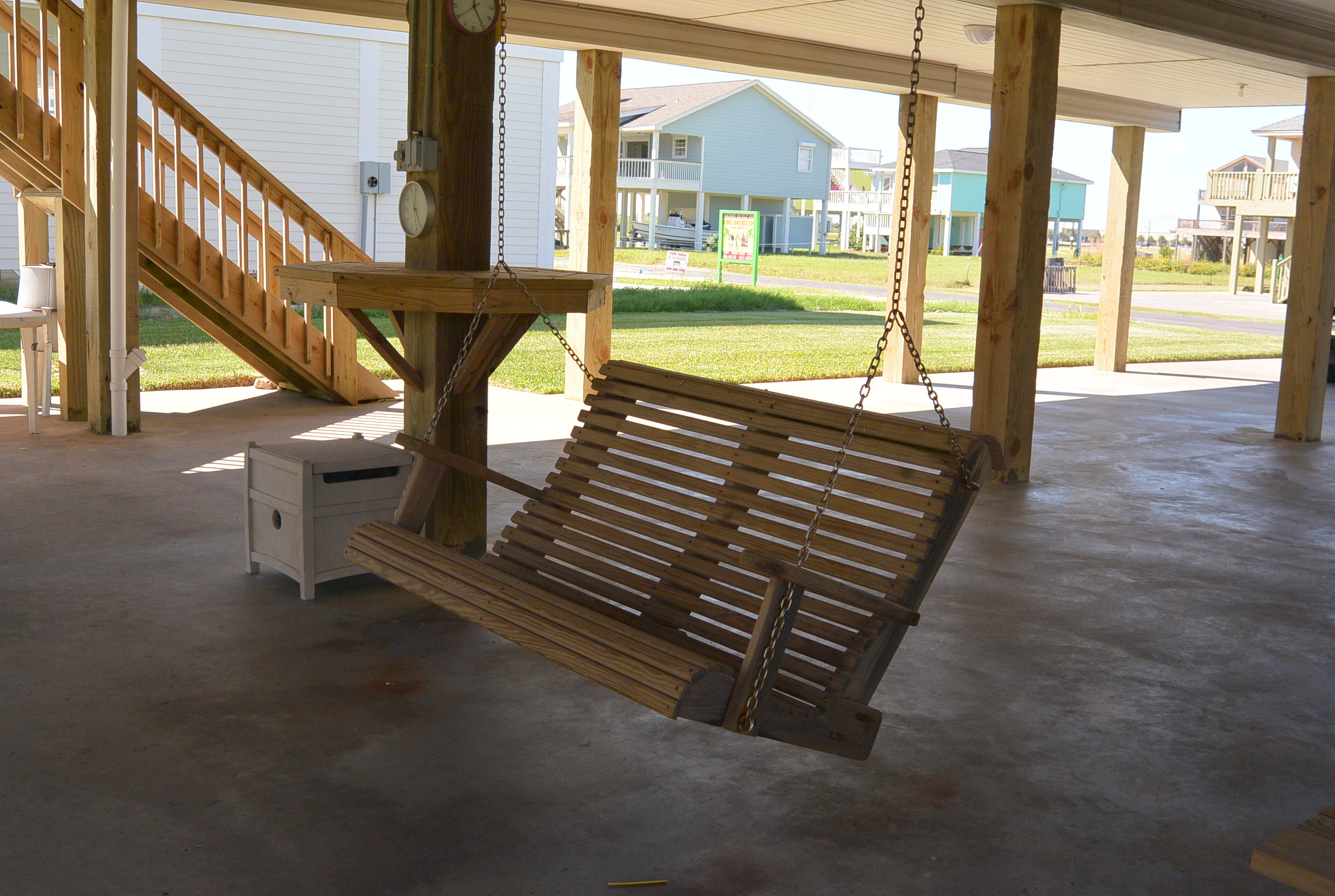 2 sandpiper downstairs swing cobb real estate crystal beach tx