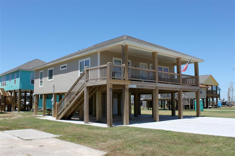 Boyd's Beach House Exterior View