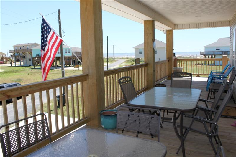 Boyd's Beach House Deck