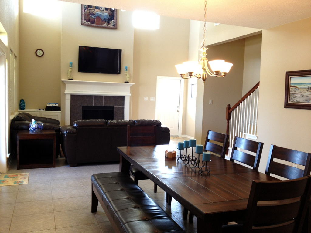 Janie's Dining Area/ Living Area
