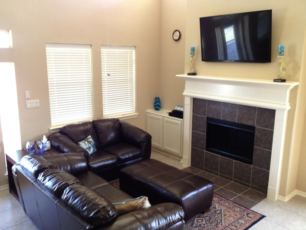 Janie's Living Area