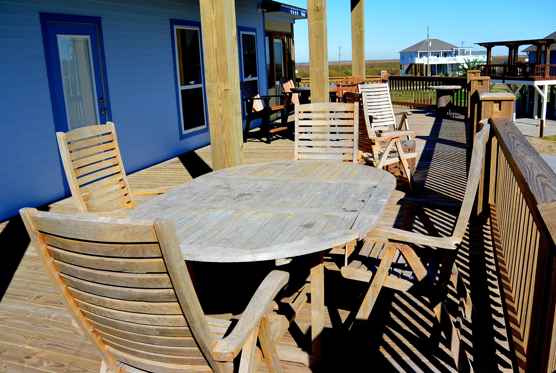Bali Beach House deck furniture