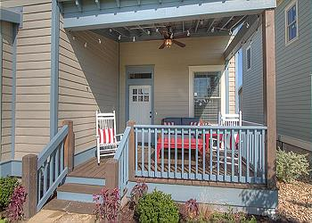 Carlton Landing Cottage rental - Exterior Photo - Front Porch
