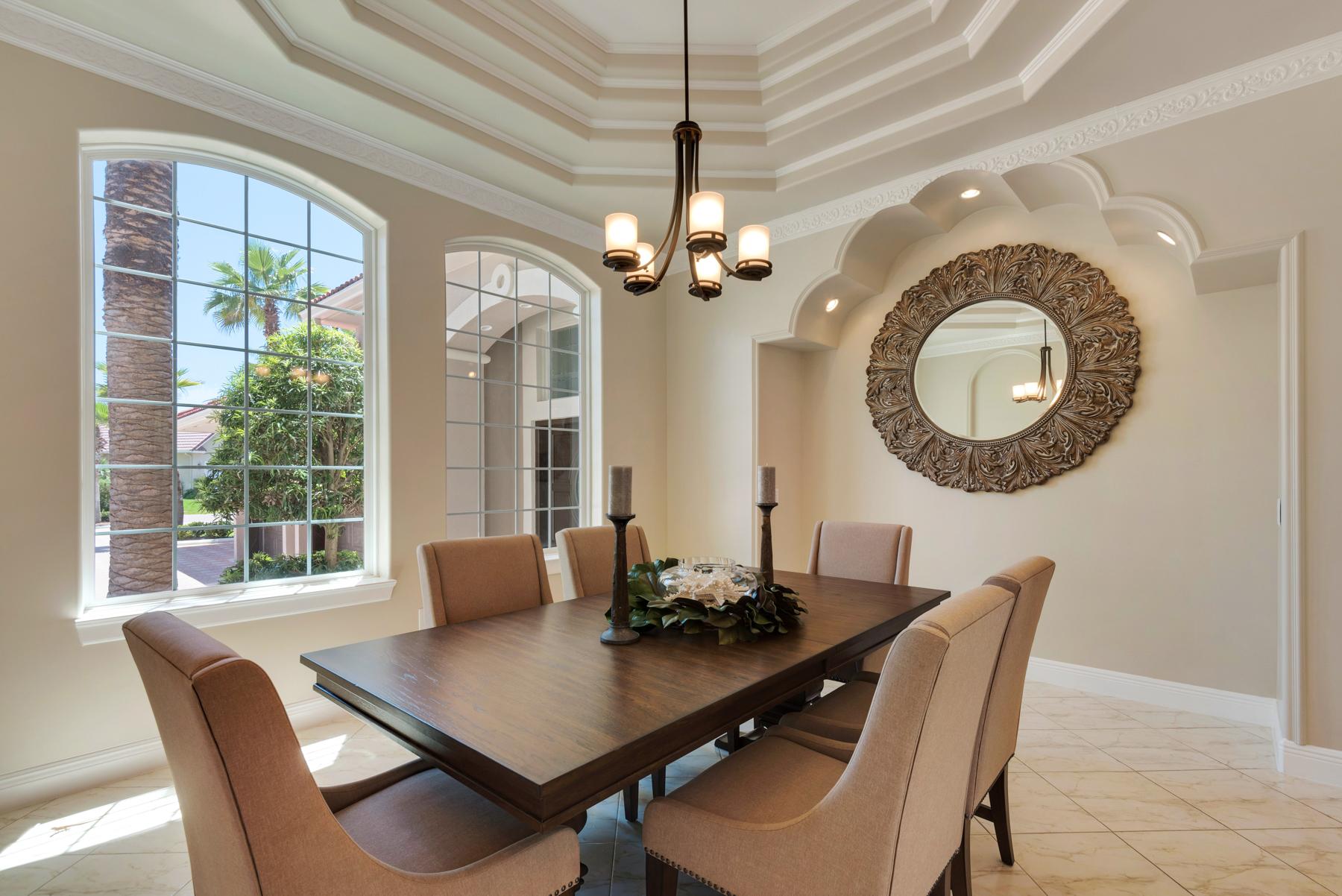 Bella casa a destin getaways rental property for Formal dining area