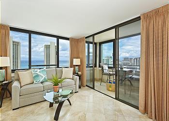 ワイキキ・スカイタワー (Waikiki Skytower) #2804
