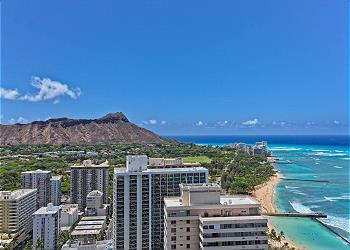 Waikiki Beach Tower #3602