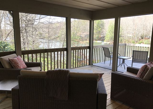 Water's Edge - View from Screened Porch [Main Level]