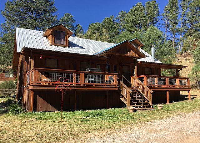 Ruidoso Nm United States Riverside Cabin