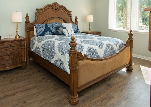 King Bed in Master Bedroom with Private Master Bath