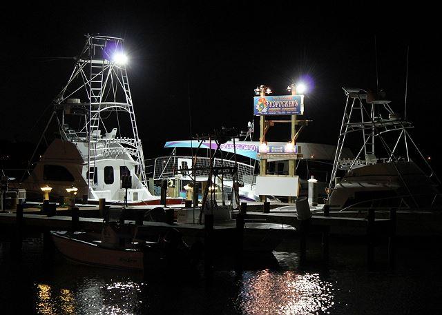 Local activities include deep sea fishing