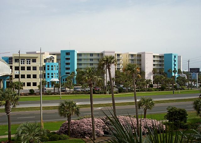 View of bayside from gulfside