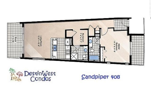 Floorplan 408 Sandpiper