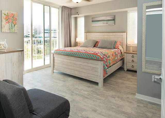 All new furnishing and top of the line mattresses will make you happy after a good nights sleep.