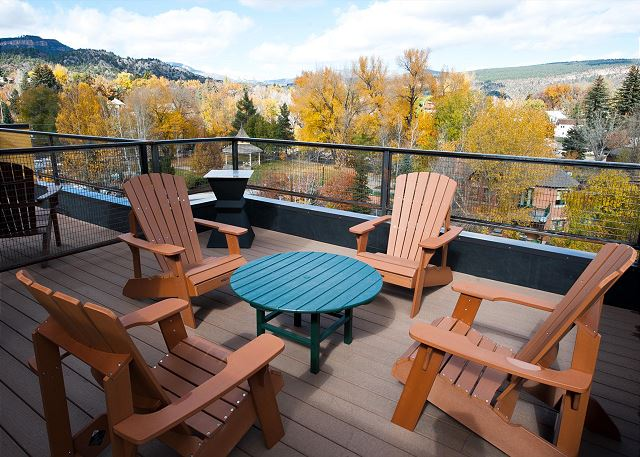 New Luxury Riverfront Townhome in Historic Downtown Durango - Roof Top Deck