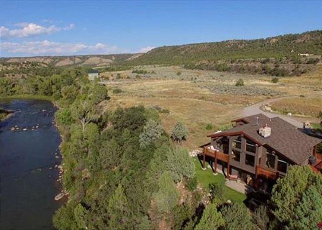 Vacation rental home in Durango, Colorado next to the Animas River