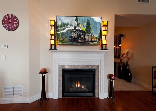 Gas Fireplace - Main Living Space