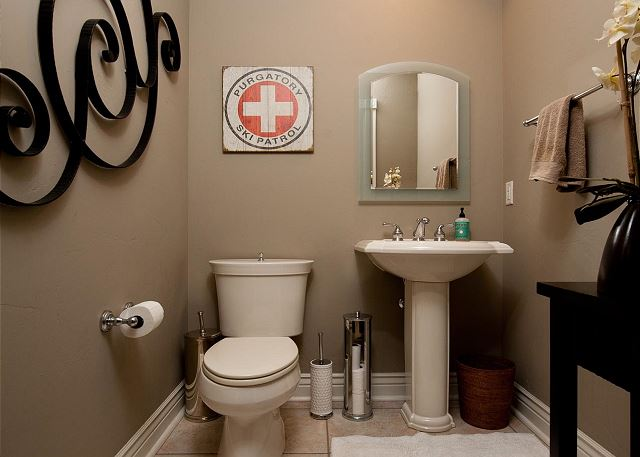 1/2 Bathroom off Main Living Space