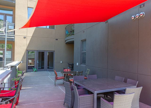 Mears outdoor patio space