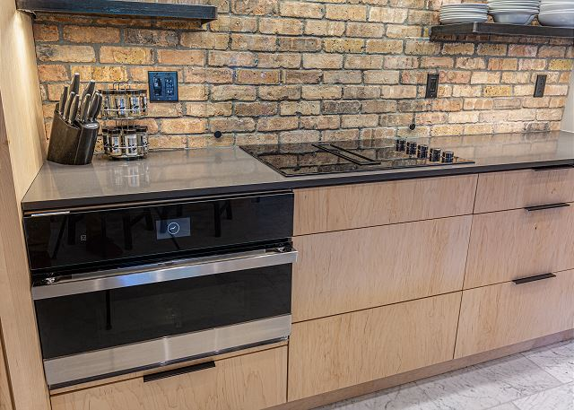 Kitchen oven and stovetop