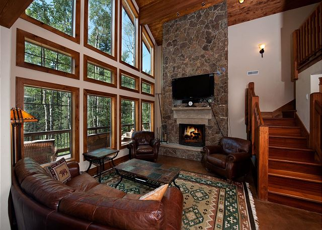 Mountain Cabin On The La Plata River - Awesome Views, Fire Pit and Deck