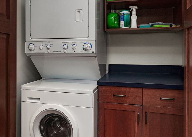 Laundry room with clothes washer and dryer
