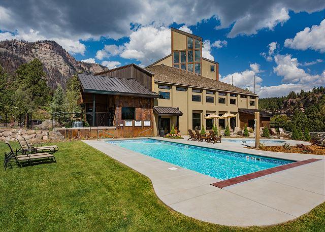 Outdoor Pool, Hot Tub at Main Lodge