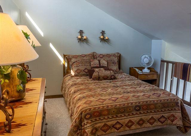 Queen Bed in Loft