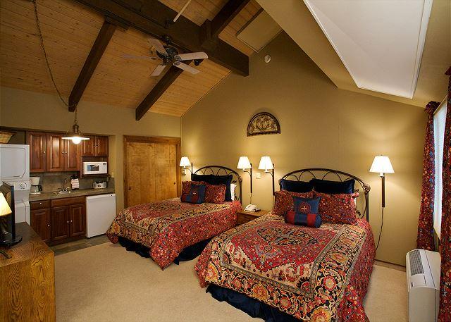 Two Queen Beds in Upstairs Bedroom