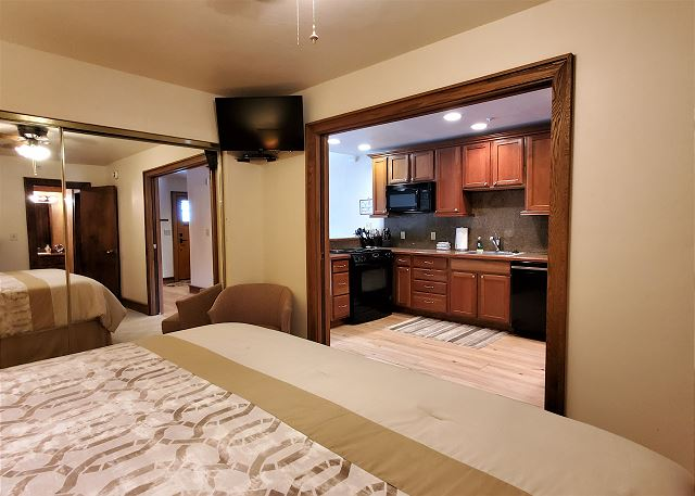 King Bedroom with TV