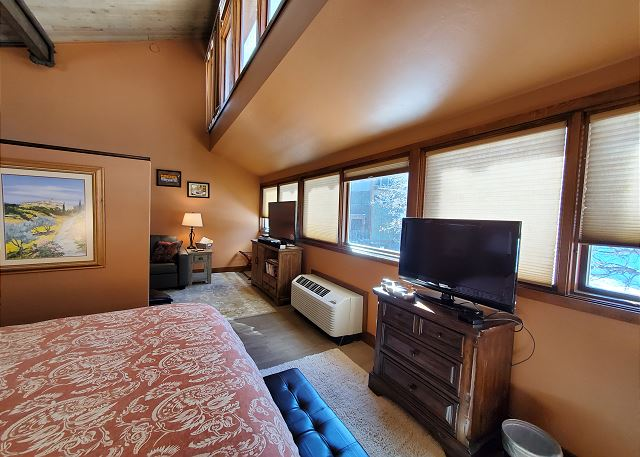TV in Living Room and Bedroom