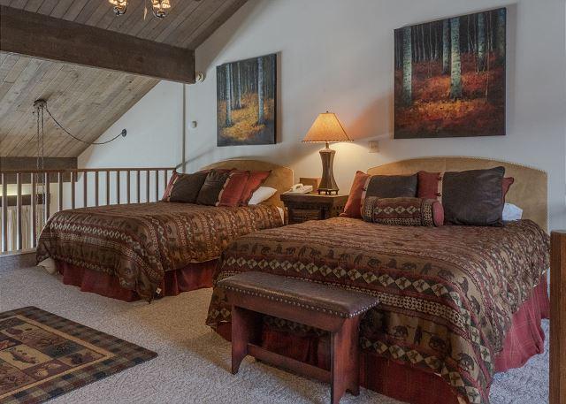 Two Queen Beds in Loft Bedroom