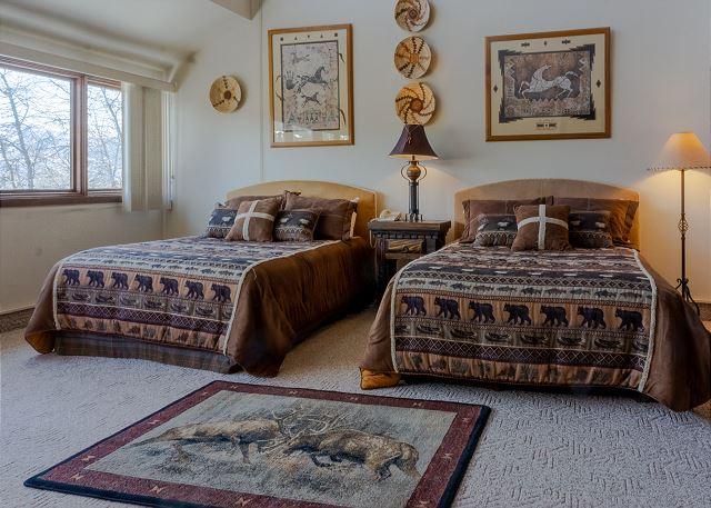 Two Queen Beds in Upstairs Bedroom Suite