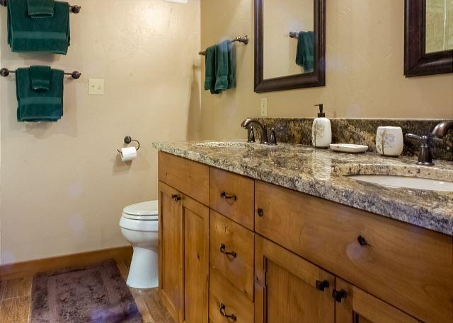 Three Full Bathrooms