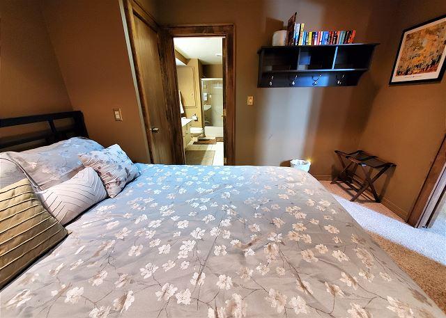 Main Level Bedroom with Queen