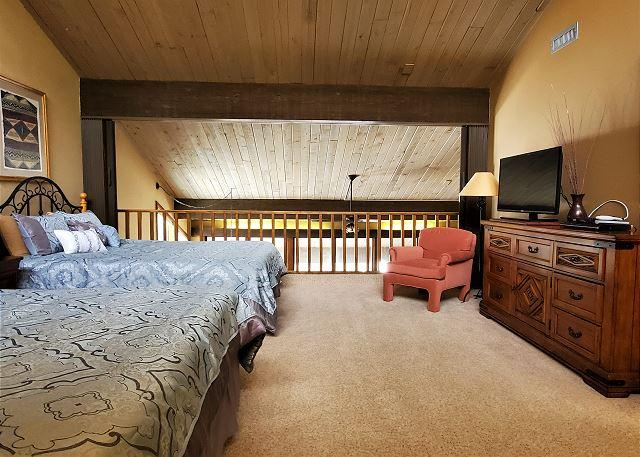 TV in Loft Bedroom