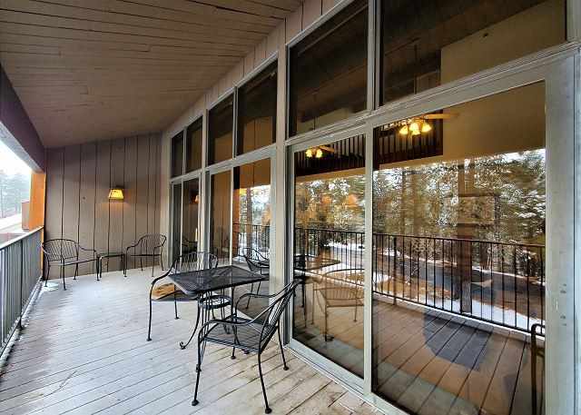 Large Deck off Living Area