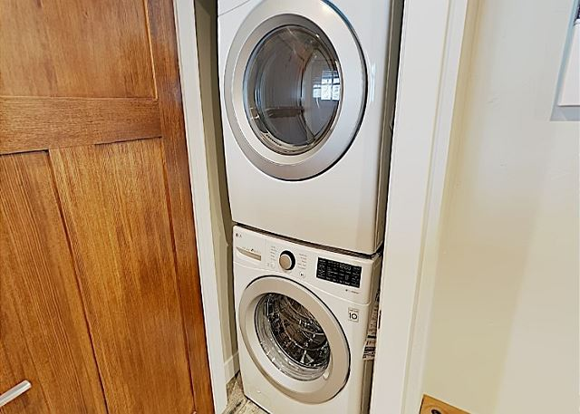 Washer & Dryer in Condo