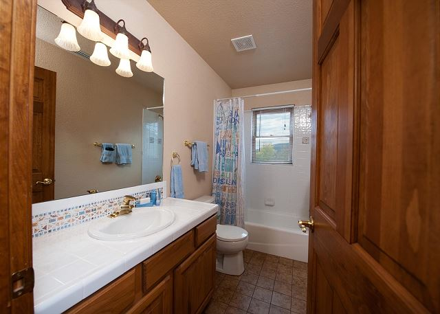 2nd Bathroom - Shared by Bedrooms #2 and #3